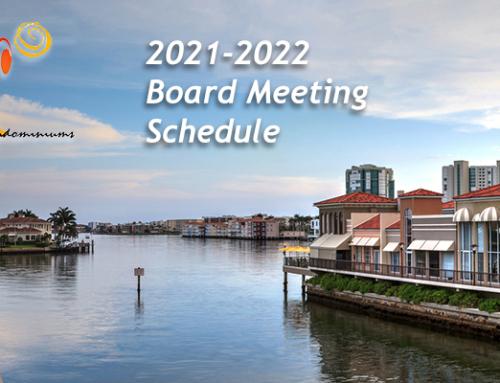 2021-2022 GSAC Board of Directors Meeting Schedule